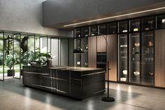 Kitchen Pantry Design, Luxury Kitchen Design, Kitchen And Bath Design, Contemporary Kitchen Design, Luxury Kitchens, Home Decor Kitchen, Kitchen Furniture, Kitchen Interior, Contemporary Style