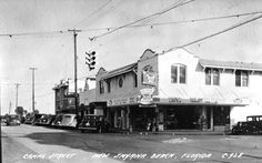 Florida Memory - Canal Street - New Smyrna Beach 1948