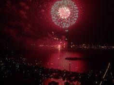 Fireworks Sail Java-eiland