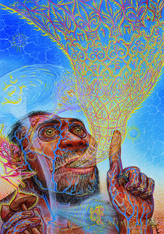 ''...I think we can go to the moon...'' Bill Hicks 'The Visionary Origin of Language' Alex Grey; @psyminds17