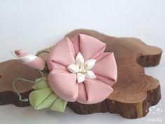 朝顔✩夏の花を添えて。 ミニコーム ⋞ 薄桃 ⋟ 訳あり品 2x