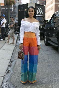 Street Chic - Black Girls Killing It at New York Fashion Week. - Street Chic Looks Black Girl Fashion, Look Fashion, Autumn Fashion, Fashion Outfits, Fashion Trends, Fashion Ideas, Womens Fashion, Feminine Fashion, Fashion Group