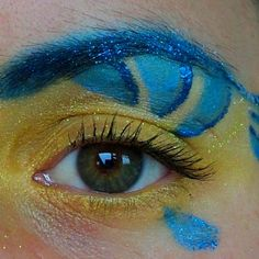 little mermaid junior flounder makeup | Flounder Disneybound Makeup