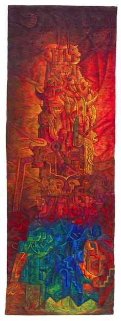 """Ritual of the Eternal Chant IV"" by Peruvian artist Maximo Laura 