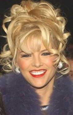 Vickie Lynn Marshall (née Hogan; November 28, 1967 – February 8, 2007), known by her moniker Anna Nicole Smith, was an American model, actress, and television personality. Smith first gained popularity in Playboy, becoming the 1993 Playmate of the Year. She modeled for clothing companies, including Guess jeans and Lane Bryant.