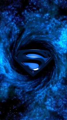 Blue Superman Symbol
