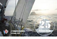 Regata #CalpeFormentera  25 aniversario Trofeo Peñón de Ifach  www.rcnc.es