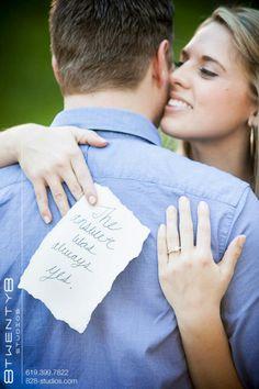 Our Engagement photos. Balboa Park, San Diego (Tim & Louise at 8twenty8 Studios)