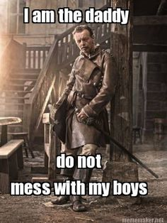Treville is Papa to the Musketeers.