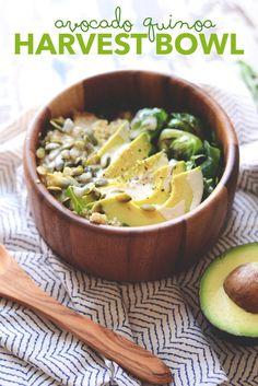Avocado Quinoa Harvest Bowl