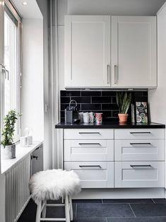 pisos suecos diseño interiores decoración interiores cocinas nórdicas cocinas modernas cocinas blancas cocina abierta blog decoración nórdica