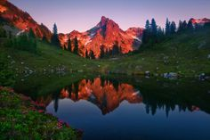Photograph Alpine Tarn by Trevor Anderson on 500px