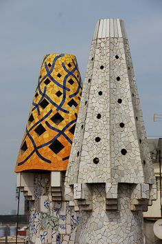 Barcelona Modernista - Detall Palau Güell Catalonia