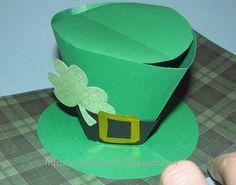 Leprechaun Hat Pop Up Card