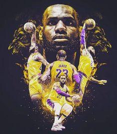 King James and the - Basketball Basketball Posters, Basketball Art, Basketball Pictures, Basketball Legends, King Lebron James, Lebron James Lakers, King James, Nike Lebron, Lebron James Wallpapers