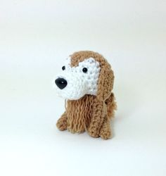 Golden Retriever Sugar Face Plush Stuffed Animal by Inugurumi, $32.00