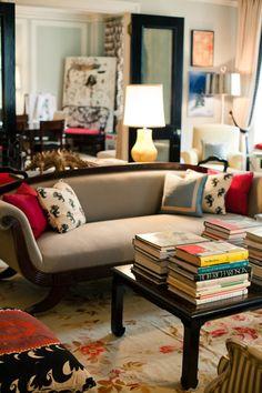 Kate Spade's living room...