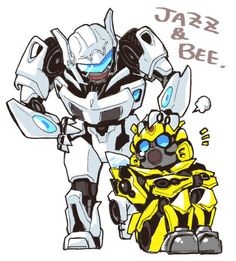 Jazz & Bumble Bee #Transformers