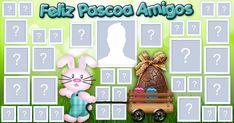 Mosaico de Feliz Páscoa com 34 amigos! Faça o seu!