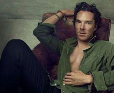 Benedict Cumberbatch.in Vogue (US) September 2013. Photographer: Annie Leibovitz--God bless you, Annie Leibovitz!