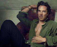 Benedict Cumberbatch.in Vogue (US) September 2013. Photographer: Annie Leibovitz