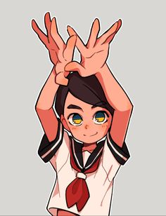 Discover ideas about character design references. girl by monionium Character Design Cartoon, Character Design References, Cartoon Styles, Cartoon Art, Character Concept, Character Art, Character Illustration, Illustration Art, Illustrations