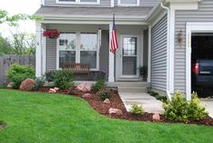 Easy landscaping ideas for a front yard with small spaces