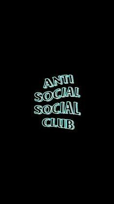 Anti Social Social Club Wallpaper Antisocialsocialclub Hypebeast