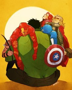 The Avengers | I adore this.