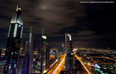 Night in Dubai by Mishari Al-Reshaid Photography, via Flickr