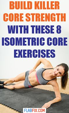 If you want to build extraordinary core strength. Add these isometric core exercises to your workout routine. Core Workouts, Core Exercises, At Home Workouts, Workout For Beginners, Beginner Workouts, Isometric Exercises, Lower Back Exercises, 30 Day Fitness, Glute Bridge