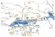 Big Bear Hiking and Biking Trails: Things to Do: Southern California