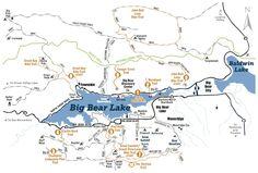 Big Bear Hiking and Biking Trails: Things to Do: Southern California