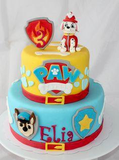 Birthday cake Paw Patrol ( pat patrouille) by Christel Kiki
