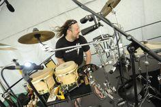 Martin Janezic - percussion  Nina Badric ft. New Festival Orchestra @ Dvorac Otočac, 7.6.2014. #ninabadric #newfestivalorchestra #dvoracotocac