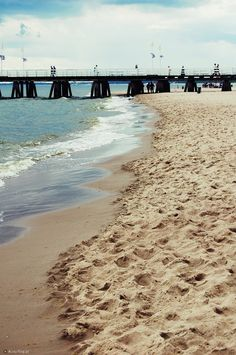 beach in Sopot