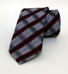 Grey Mens Tie 6 cm (2,36 #handmadeatamazon #nazodesign