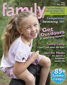 May 2015: Family camp, competitive swimming, summer camps and more!