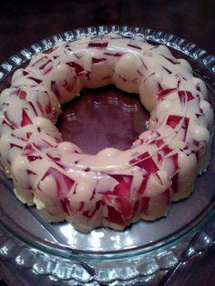 Cookie Recipes, Dessert Recipes, Desserts, Apple Cake, Jello, Custard, Berries, Food And Drink, Birthday Cake