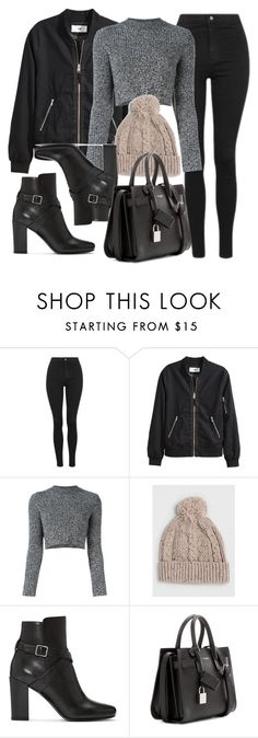 """Style #11584"" by vany-alvarado ❤ liked on Polyvore featuring Topshop, Carven, Topman and Yves Saint Laurent"