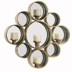 This Circuit TH Medallion Jade Drop Candle Holder Metal Wall Art is an attractive feature to your Indoor or Outdoor covered entertaining area room.  Stunning medallion pattern metal circuit candle holder.  Dimensions:  84 x 84 x 9.5 CM   Colour: Rustic Jade  Beautiful decorative pieces of metal art for your wall have the ability to add interest to a space in such a simple way.  $449.95