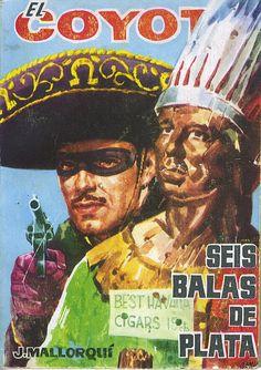 Seis balas de plata. Ed. Cid, 1962 (Col. El Coyote ; 76)
