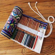 36-48-60-72-Stylos-trousse-scolaire-decole-maquillage-sac-crayon-pinceaux-poche