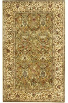 Brighton Area Rug - Light Green & Beige (from www.homedecorators.com) 3' x 5' is $179.00 + $24.00 shipping 2' x 3' is $65.00 + $8.00 shipping