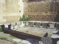 """Public toilets in Ostia Antica: the """"forica"""""""