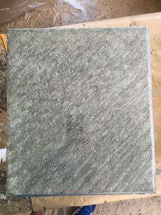 Grey metallic epoxy look