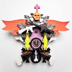 Creative Cuckoo Clock by Stefan Strumbel