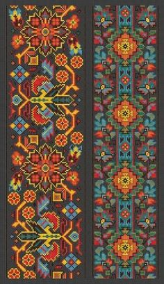Cross Stitch Pattern Sampler Vintage Borders by MyTreasureIsland by joann