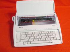 brother ml 300 typewriter refurbished vintage items pinterest rh pinterest com Brother GX-6750 Typewriter Manual Brother GX-6750 Typewriter Manual