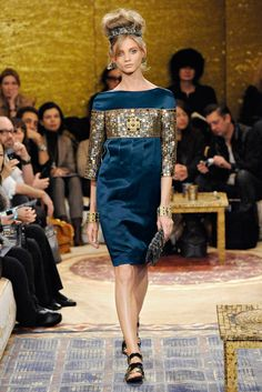85aa550fc7e Anna Selezneva at Chanel Pre-Fall 2011. One of my favourite Chanel  collections to